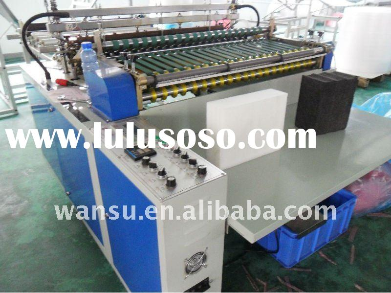 WS - 900-type flat bottom seal bag making machine
