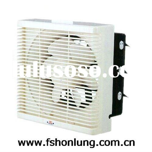 Wall-mounted Square Exhaust Fan with Louver (KHG15-E)