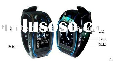 Watch GPS Tracker, Supports SOS Button for Immediate Rescue, Alarm, and Over Speed Limit Warning