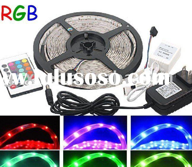 Waterproof 5M 5050 RGB led rope light