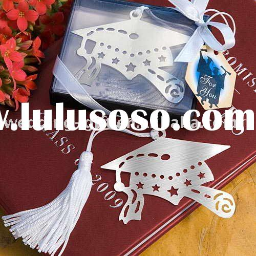 Wedding decoration of Book Lovers Collection graduation cap bookmarks favor Gift