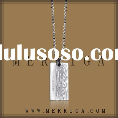 Wholesale 925stering silver necklace high fashion jewelry brand with cheap price