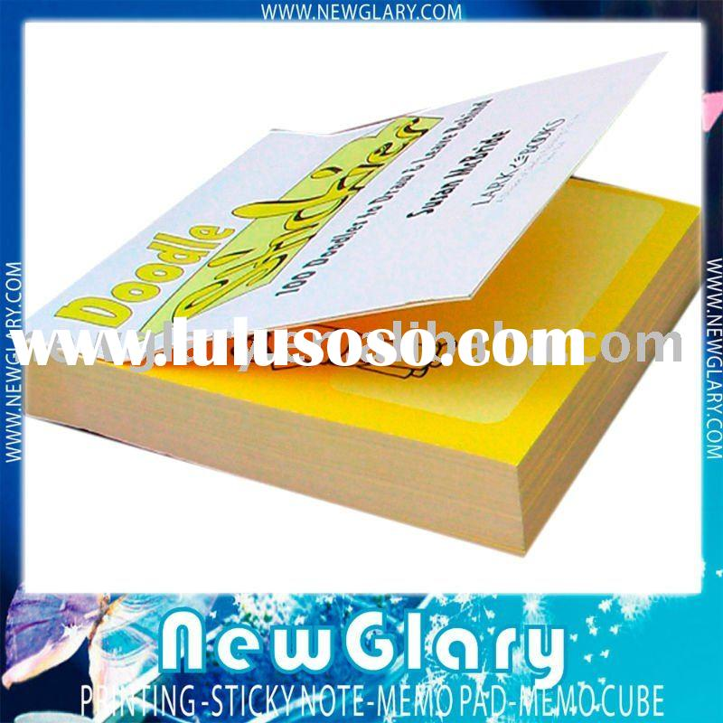 Wholesale Sticky Note Pad With Cover (NG-BJ07)