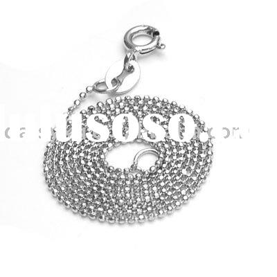 Wholesale necklace sterling silver chains