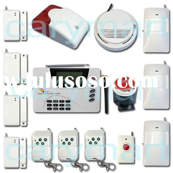 Wireless Auto Dial Home Security GSM SMS Alarm System/ GSM Intelligent Burglar Alarm