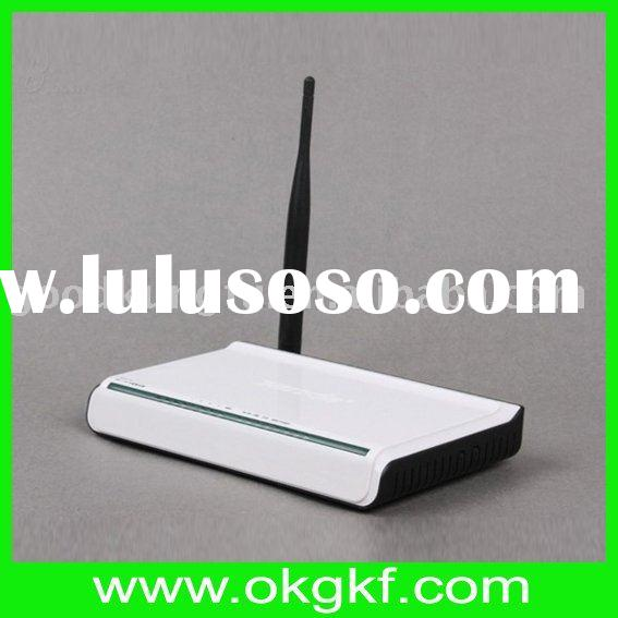 Wireless router with 4-Lan-port