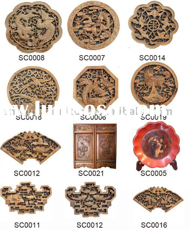 Wood art,wood carving,wall plaque,wooden craft