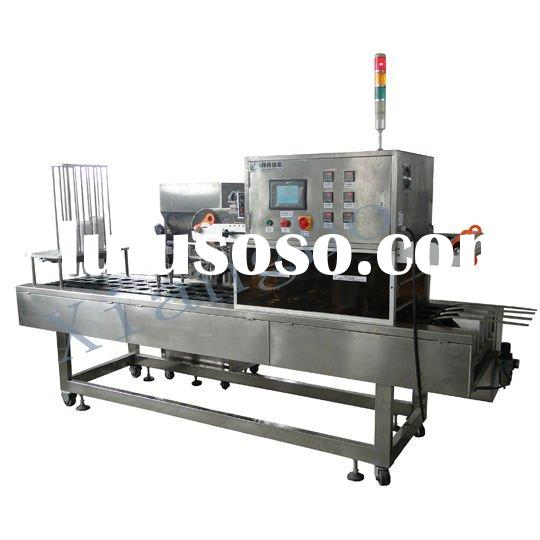 XBBH-95-4 High Capacity Yogurt Cup Filling and Sealing Machine