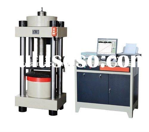 YAW-3000 Automatic Compression Testing Machine+Concrete Pressure Testing Equipment+Concrete/Cement C