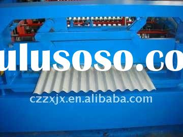 YX18-63.5-825 corrugated roof sheet roll forming machine