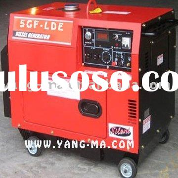 Yanmar/kipor type air cooled diesel engine power soundproof generator set