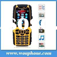 ZTC007 Dual SIM Waterproof Watch Mobile Phone with Russian Keyboard