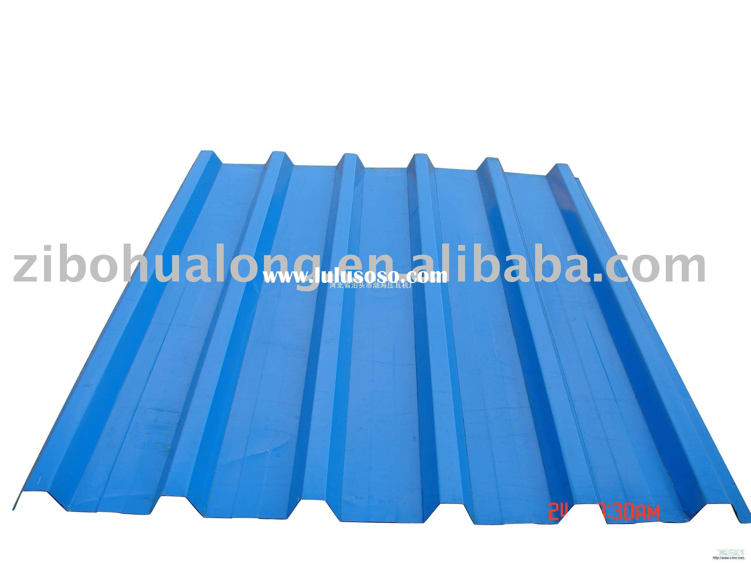 Zinc coated metal sheet