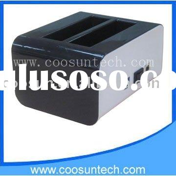 (CS631) USB3.0 to SATA HDD Docking Station 2 Bay