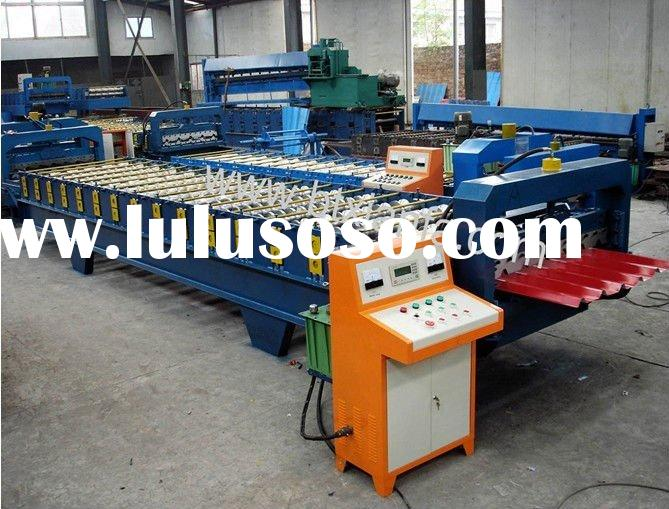 aluminium roll forming machine for roofing