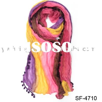 artificial cotton scarf