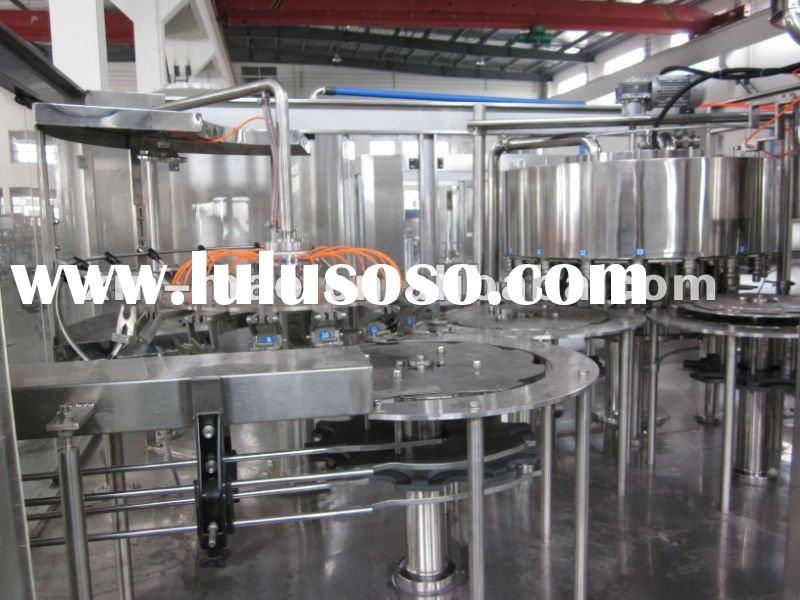 auto drink water filling machine auto washing, filling & capping three-in-one machinery