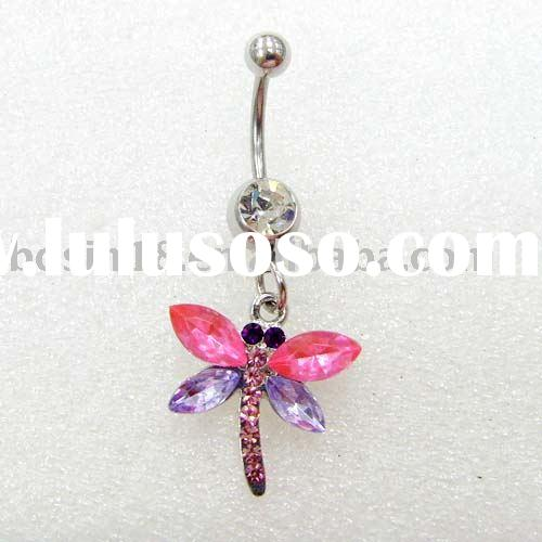 belly ring/body piercing jewelry/navel ring