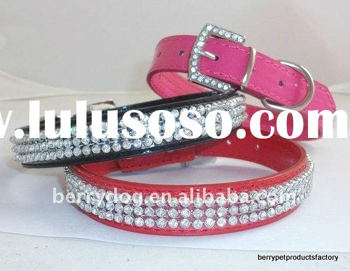 bling dog collars for small dogs 3 colour from stock pet products