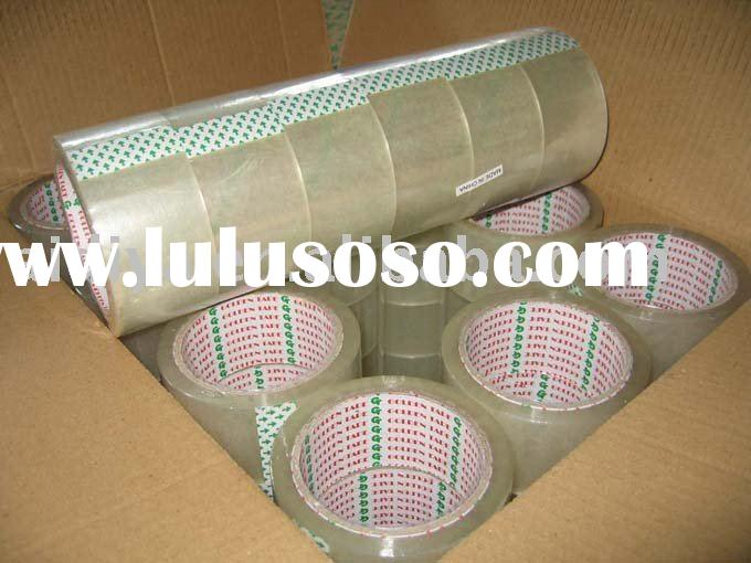 bopp packing tape (water based acrylic adhesive)