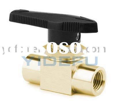 brass npt female thread ball valve