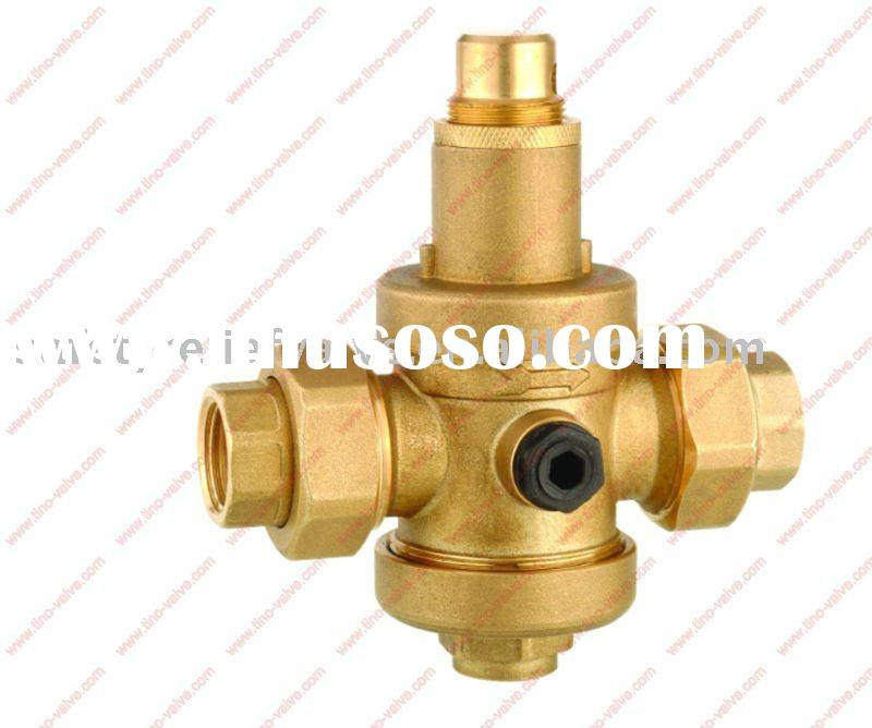 brass water pressure regulator inlet 25bar
