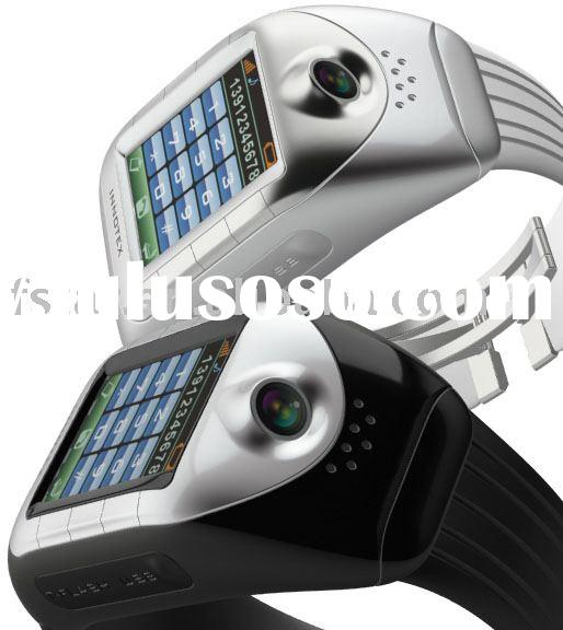 camera watch phone,wrist watch phone,mobile watch phone with bluetooth,cell phone,triband watch phon