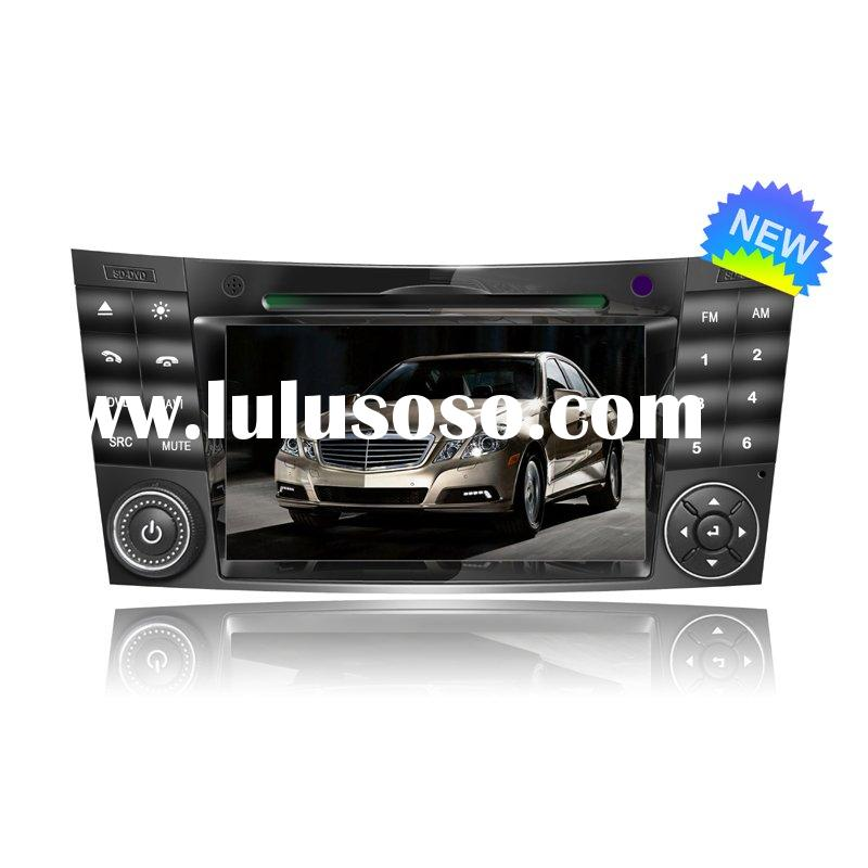car dvd with gps , pip, 6 disc memory for MERCEDES BENZ E CLASS