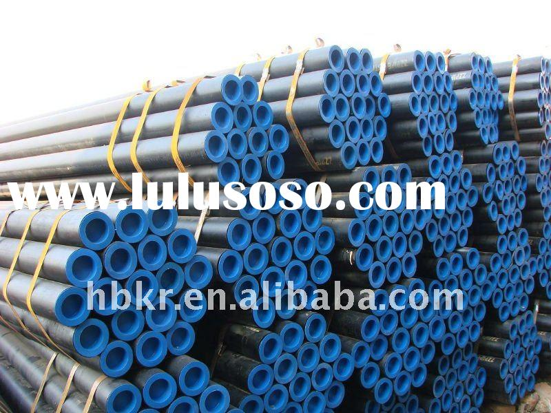 carbon steel seamless pipes- galvanized