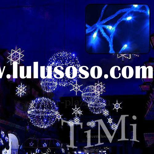 christmas lights LED lights 12M Waterproof 100 Blue LED String Fairy Light Xmas lights