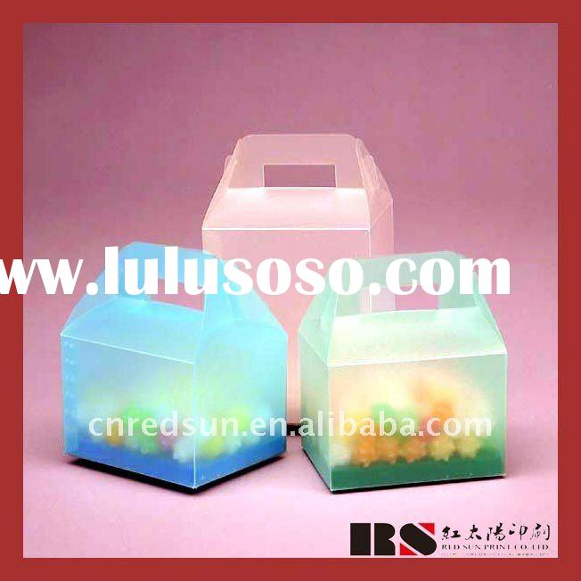 coloful wedding door gift boxes with high quality