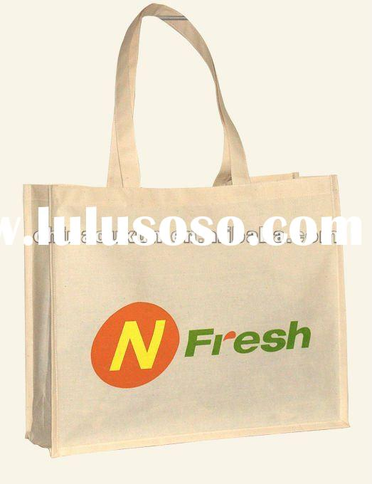 cotton shopping bag, high quality and recycled