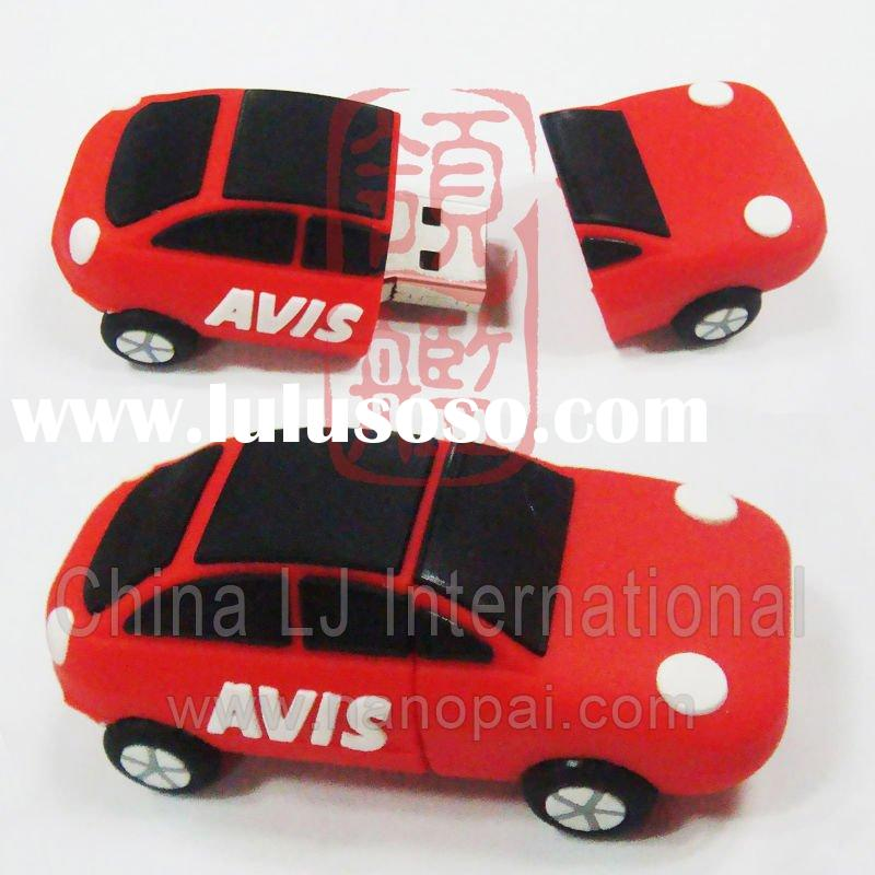 custom sports car shape pvc usb flash drive