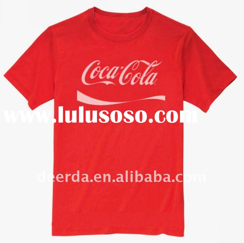 custom t shirt with printing for promotional