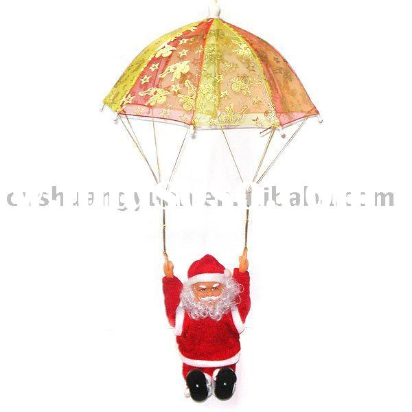 electric christmas santa claus/christmas decoration