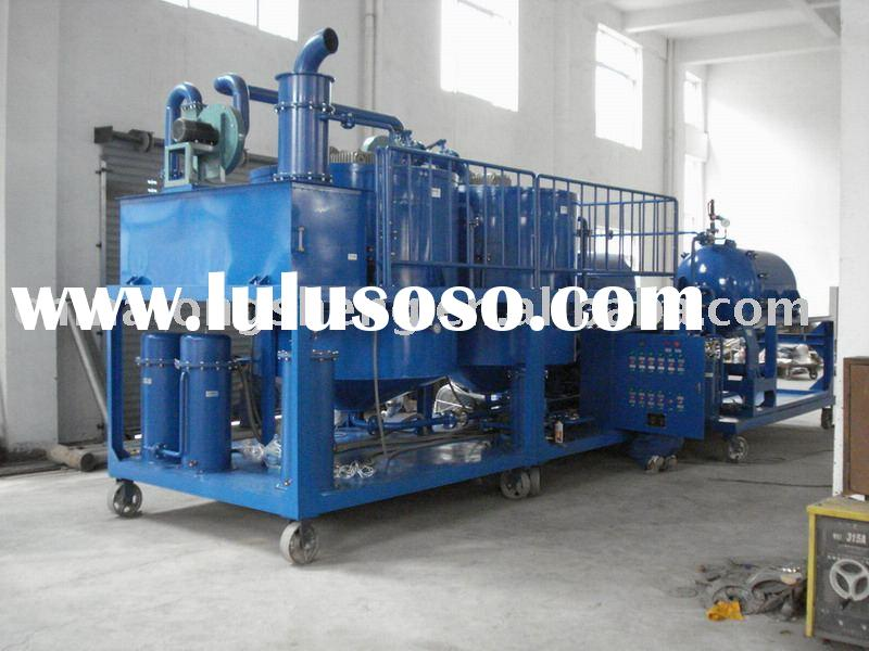 engine oil lubricant oil recycle purification regeneration machine plant -ZYD-A for engine oil and l