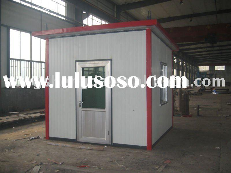 environmental protection steel structure light portable container building made in china