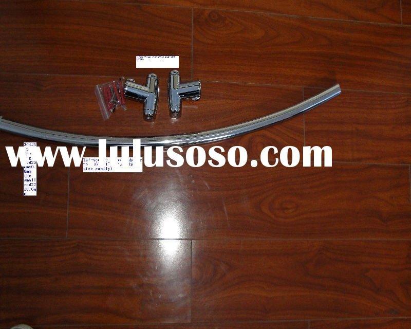 extensible stainless steel arc shower curtain rod