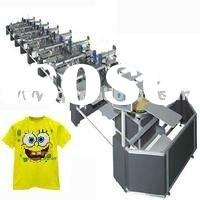 fabric textile t shirt rotary screen printing machine