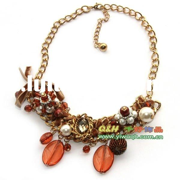 fashion beads necklace,chunky necklace,fashion costume jewelry set
