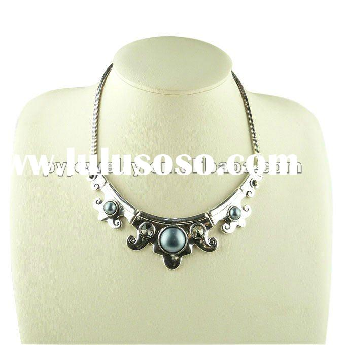 fashion chunky costume accessories necklace