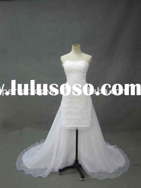 fashion front short and long back wedding dress RCP0027