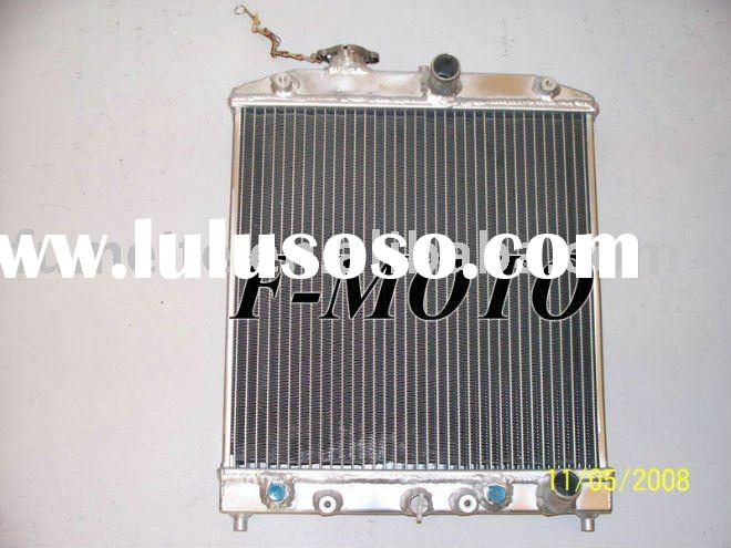 for Honda Civic EK EG 92 93 94 95 96 97 98 99 00 AT, aluminum RACING radiator auto parts