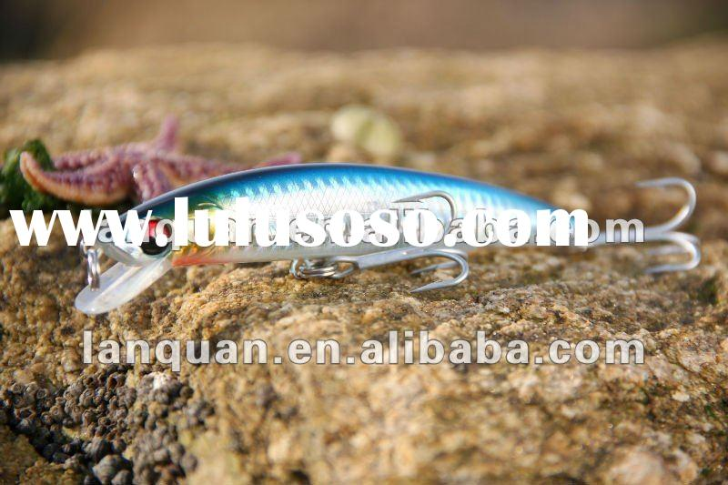 hard plastic fishing lure- 'Minnow No.12'