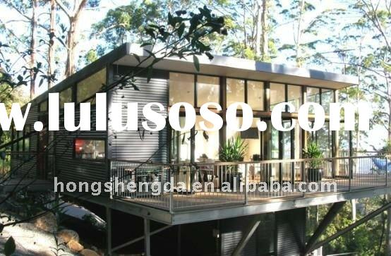 heat and cold insulation steel structure prefabricated modular container building made in china