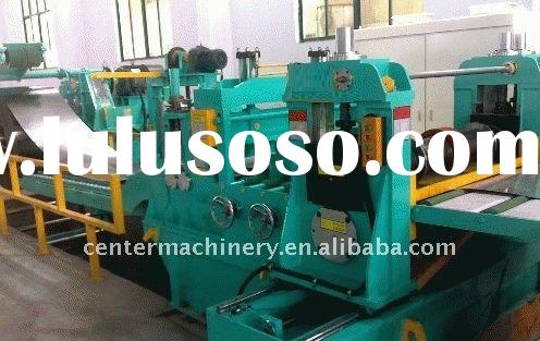 high precision hot rolled steel coil leveler and cross-cutter