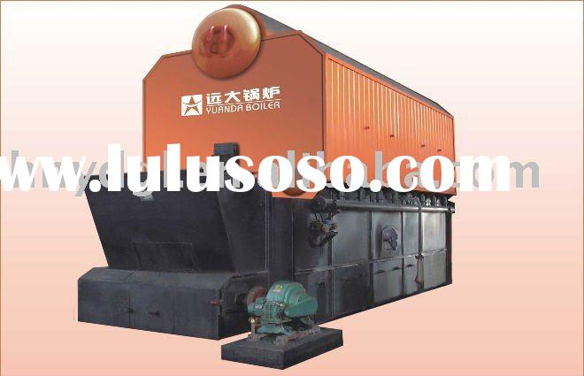 high pressure double drum water tube steam boiler