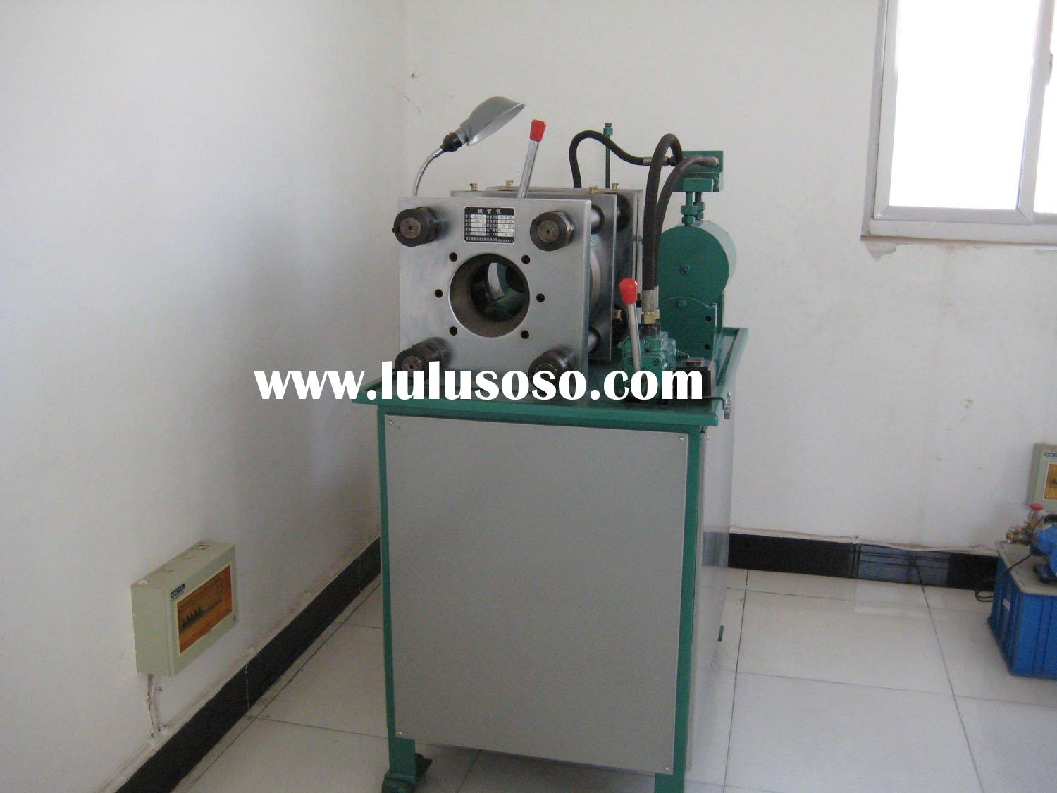 high pressure hose crimping machine DSG-75(3'' 6sp)/high-pressure locking pipe machi