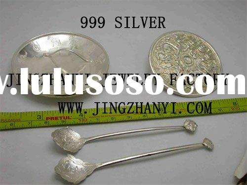 high quality 925 sterling silver tableware (customer's design only)
