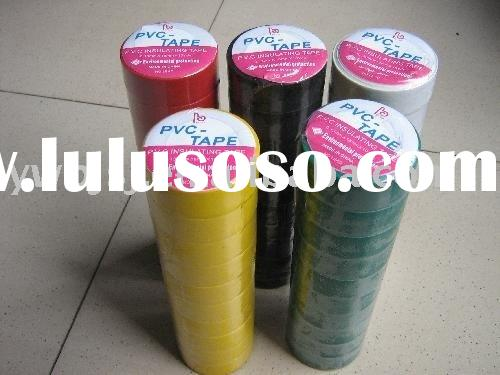 high quality adhesive PVC Electrical Insulating Tape